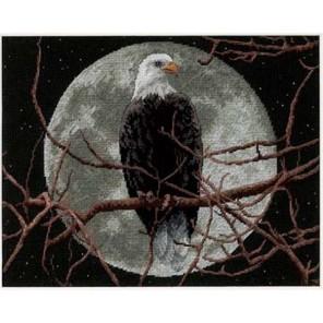 Орел в лунном свете 13688 Набор для вышивания Dimensions ( Дименшенс )
