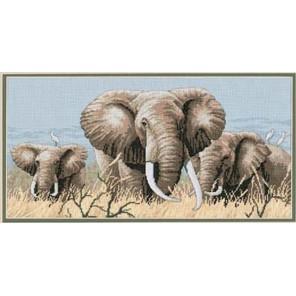 Слоны 35012 Набор для вышивания Dimensions ( Дименшенс )