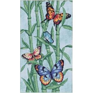Бабочки и бамбук 35120 Набор для вышивания Dimensions ( Дименшенс )