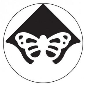 Уголок Бабочка Фигурный дырокол для скрапбукинга Martha Stewart Марта Стюарт