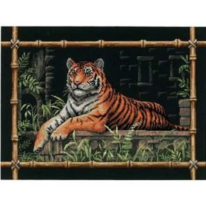 Бамбуковый тигр 35158 Набор для вышивания Dimensions ( Дименшенс )