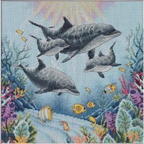 Утро дельфинов 35186 Набор для вышивания Dimensions ( Дименшенс )