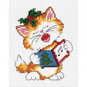 Поющий котенок Набор для вышивания Белоснежка