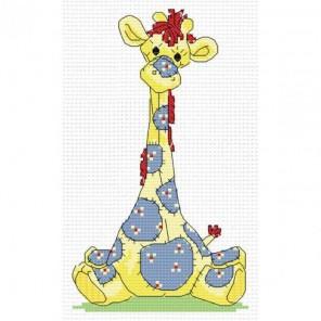 Жирафик Набор для вышивания Белоснежка