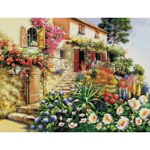 Итальянский дворик Набор для вышивания Белоснежка