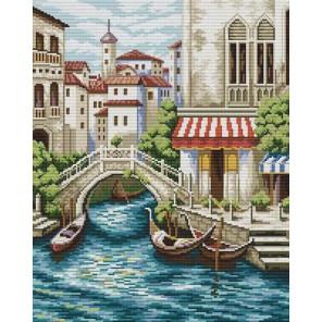 Улочки Венеции Набор для вышивания Белоснежка