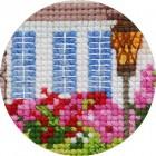 Домик на полянке Набор для вышивания Белоснежка