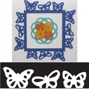 Бордюр Бабочки Фигурный дырокол для скрапбукинга Martha Stewart Марта Стюарт