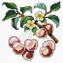 Спелая вишня Набор для вышивания Белоснежка
