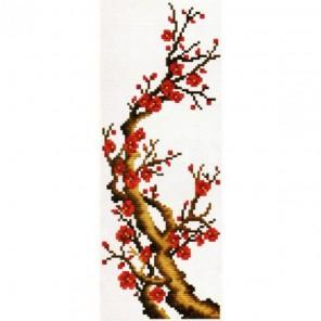 Ветка сакуры Набор для вышивания Белоснежка