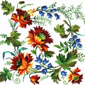 Вальс цветов Набор для вышивания Белоснежка