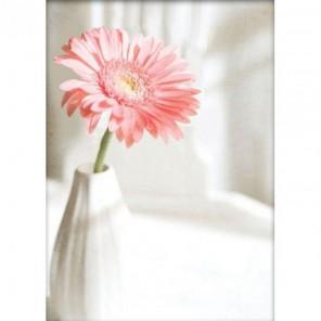 Розовая гербера Набор для вышивания Белоснежка
