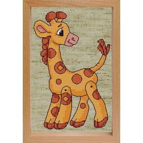 Жираф Набор для вышивания Белоснежка