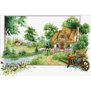 Деревня Набор для вышивания Белоснежка