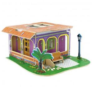 Кабинет 3D Пазлы Деревянные Robotime