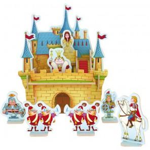 Дворец принцессы 3D Пазлы Деревянные Robotime