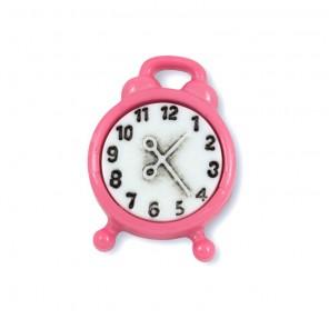 Будильник розовый Пуговицы декоративные
