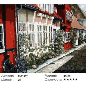 Количество цветов и сложность Лето в Амстердаме Раскраска картина по номерам акриловыми красками на холсте