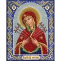Богородица Семистрельная Набор для частичной вышивки бисером Паутинка