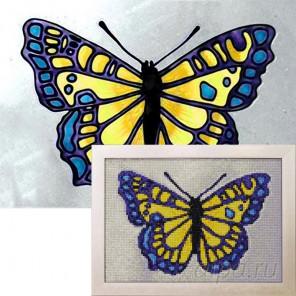Лимонница Алмазная вышивка мозаика Гранни