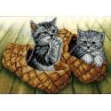 Котята Набор для вышивки бисером Вышиваем бисером