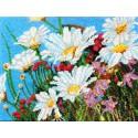 Весенние ромашки Марни Вард Набор для вышивки бисером Вышиваем бисером