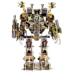 Devastator Робот Штурмовик 3D Пазл Zilipoo