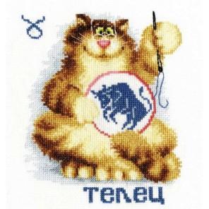 Знак зодиака Телец Набор для вышивания Золотое Руно