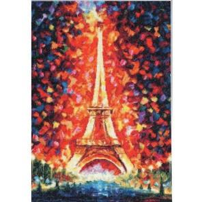 Ночной Париж Леонида Афремова Набор для вышивания Золотое Руно