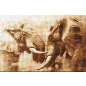Слоны Набор для вышивания Золотое Руно