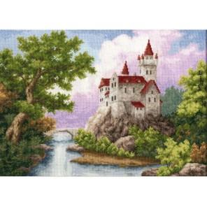 Замок Набор для вышивания Золотое Руно