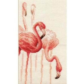 Фламинго. Набор №1 Набор для вышивания Золотое Руно