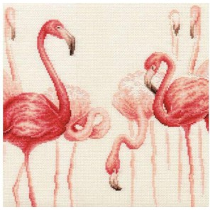 Фламинго. Набор №2 Набор для вышивания Золотое Руно