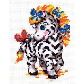 Малышка-зебра Набор для вышивания Чудесная игла