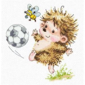 Буду футболистом Набор для вышивания Чудесная игла