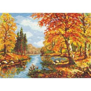Золотая осень Набор для вышивания Чудесная игла