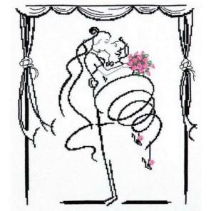 Свадебный вальс Набор для вышивания Чудесная игла