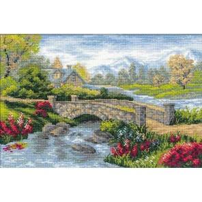 Летний пейзаж Набор для вышивания Риолис