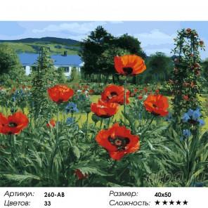 Сложность и количество цветов Любимое лето Раскраска картина по номерам акриловыми красками на холсте Белоснежка