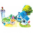 Романтический пляж (мини серия) 3D Пазлы Zilipoo