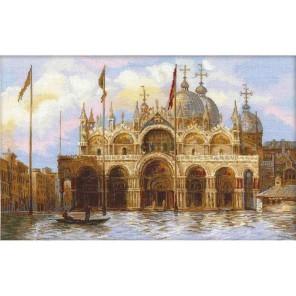 Венеция. Площадь Сан-арко Набор для вышивания Риолис