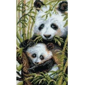 Панда с детёнышем Набор для вышивания Риолис