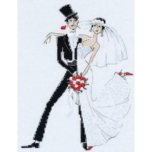 Свадебное танго Набор для вышивания Риолис