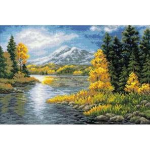 Озеро в горах Набор для вышивания Риолис