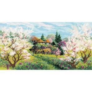 Яблоневый сад Набор для вышивания Риолис