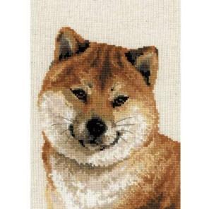 Японская лайка Набор для вышивания Риолис
