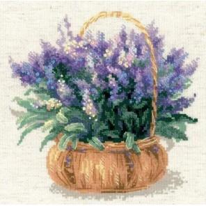 Французская лаванда Набор для вышивания Риолис