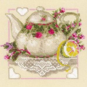 Чай с лимоном Набор для вышивания Риолис