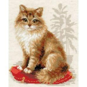 Кошка домашняя Набор для вышивания Риолис