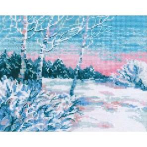 Зимнее утро Набор для вышивания Риолис